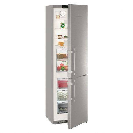Chladnička s mrazničkou Liebherr KGBNf 2060-3 nerez